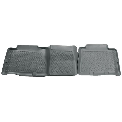 Husky Classic 2003-2007 Hummer H2 2nd Row Grey Rear Floor Mats/Liners