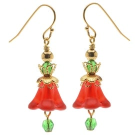 Christmas Bell Earrings - Exclusive Beadaholique Jewelry Kit