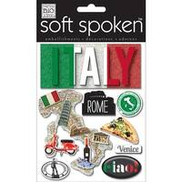 Authentic Italy - Soft Spoken Themed Embellishments
