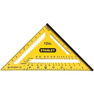 Stanley STHT46011 Dual Color Square, 12""