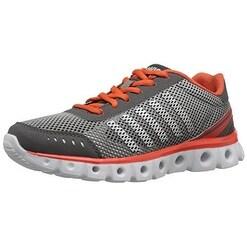 K-SWISS Women's X Lite Athletic Cmf Cross-Trainer Shoe - charcoal/cherry tomato