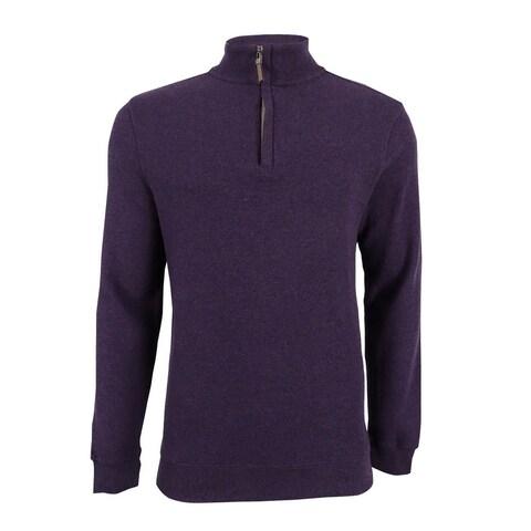 Tasso Elba Men's Quarter-Zip Pullover