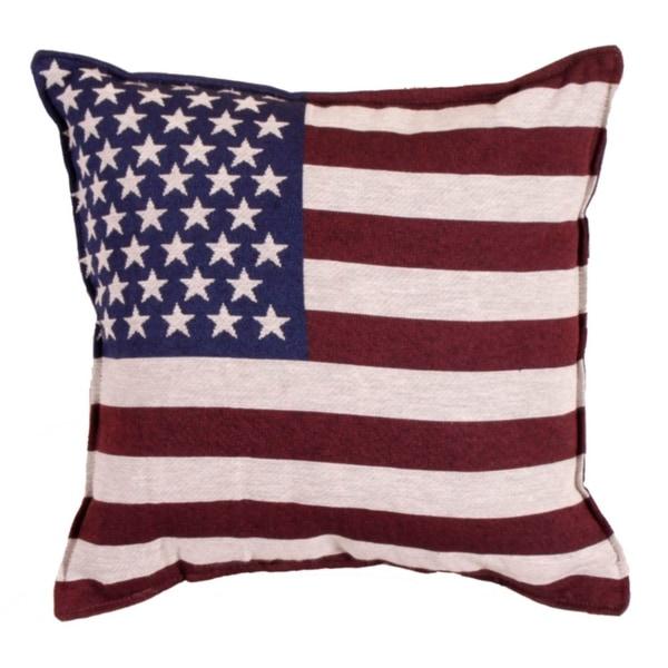 Shop Set Of 2 Patriotic United States Flag Square