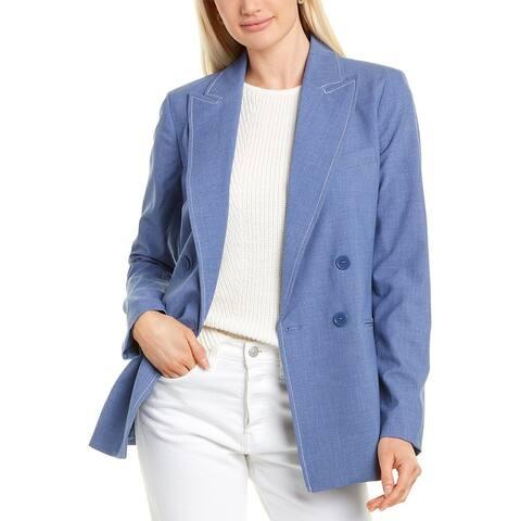 Tahari Asl Double-Breasted Jacket