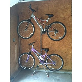 The Art Of Storage Donatello Leaning 2-Bike Rack 14 in. L x 84 in. H x 22 in. W
