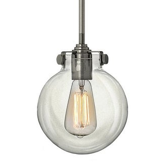 Hinkley Lighting 3128 1 Light Indoor Mini Pendant with Clear Globe Shade from the Congress Collection