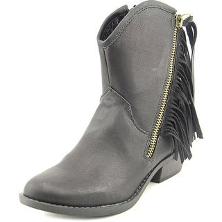 Report Davey Women Round Toe Synthetic Ankle Boot