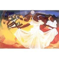 ''Surrender'' by Bernard Hoyes African American Art Print (22 x 32 in.)