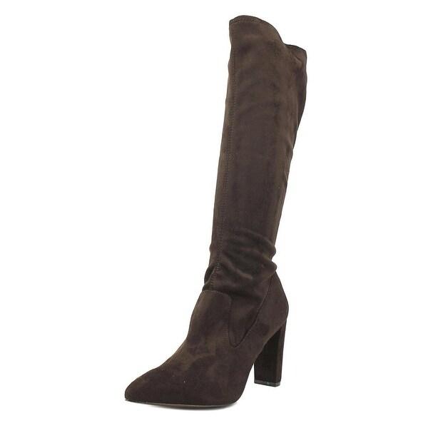 Adrienne Vittadini Nanni Women Dark Brown Boots