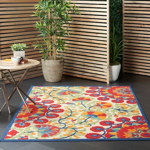 Nourison Aloha Indoor/Outdoor Botanical Rug