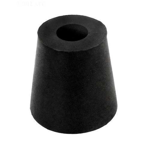 "1"" Black Rubber Cord Stopper Seals Pool Light Conduit"