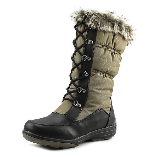 Wanderlust Christi Women Khaki/Kaki Boots
