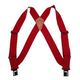 Perry Suspenders Men's Elastic Outback Side Clip Trucker Suspenders - regular