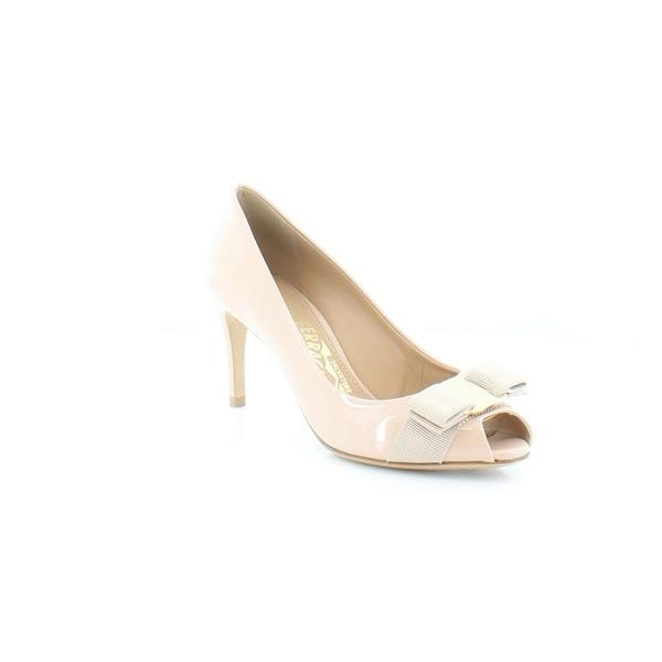 Salvatore Ferragamo Pola Women's Heels New Bisque - 5.5
