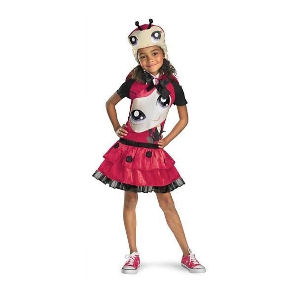Hasbro Littlest Pet Shop Ladybug Costume M (7-8)