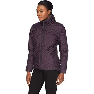 The North Face Mossbud Insulated Reversible Jacket, Purple/Black, Small
