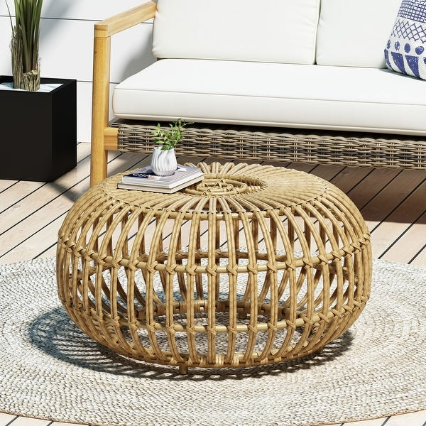 Ottawa Wicker Coffee Table by Christopher Knight Home. Opens flyout.