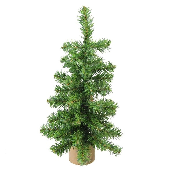 Incredible Shop 12 Alpine Artificial Christmas Tree With Wood Base Home Interior And Landscaping Ologienasavecom