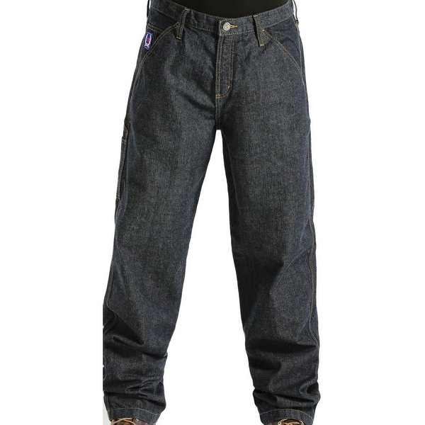 Cinch Western Denim Jeans Mens Blue Label Utility WRX Dark
