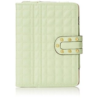 Jessica Simpson Erin Carlyle Tablet Case Faux Leather Quilted