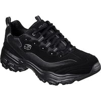 Skechers Men's D'Lites Sneaker Black