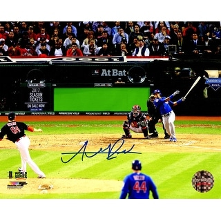 Addison Russell Chicago Cubs 2016 World Series Game 6 Grand Slam 8x10 Photo