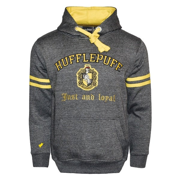 Harry Potter Unisex Hogwarts Hufflepuff Hoodie - Hooded Sweatshirt. Opens flyout.