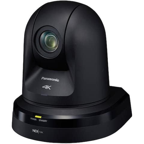 Panasonic 20x Zoom 4K PTZ Camera with 3G/HD/SD-SDI & HDMI Output and NDI (Black)