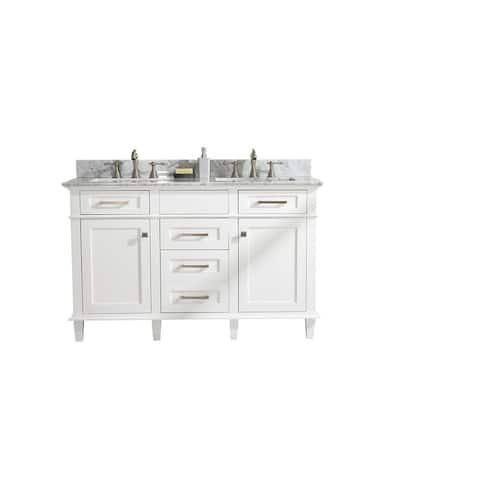 """Legion Furniture 54"""" WHITE SINK VANITY WLF2254-W"""