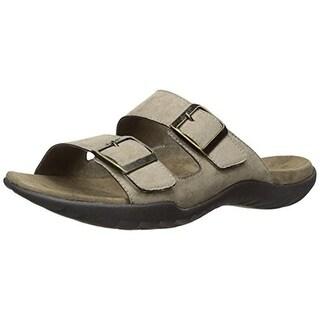 J-41 Mens Juno Vegan Leather Casual Slide Sandals