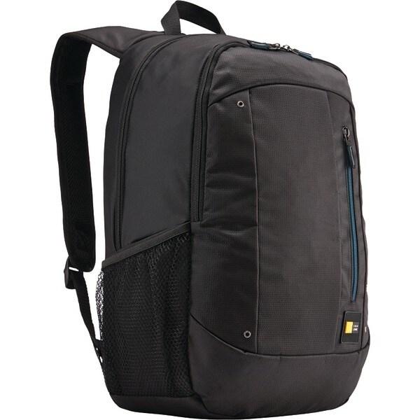 "Case Logic Wmbp115Black 15.6"" Notebook Backpack With Tablet Pocket"