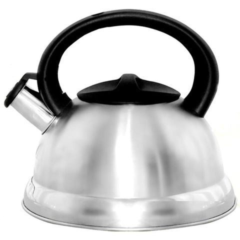 Better Chef WTK-100 Whistling Tea Kettle, 3 Ltr - Silver