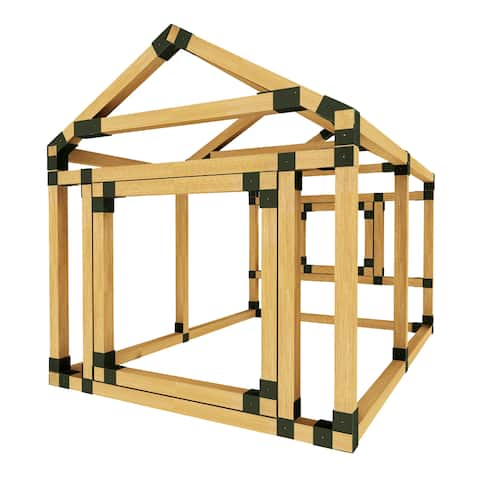 "DIY E-Z Frame 38X60 Playhouse Kit - 38""X60"""