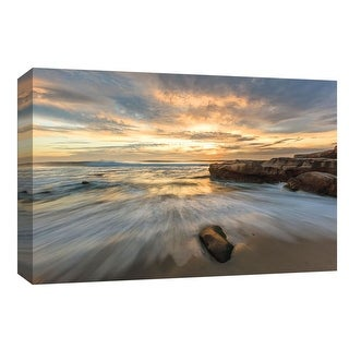"PTM Images 9-148162  PTM Canvas Collection 8"" x 10"" - ""Coastal Rush"" Giclee Beaches Art Print on Canvas"