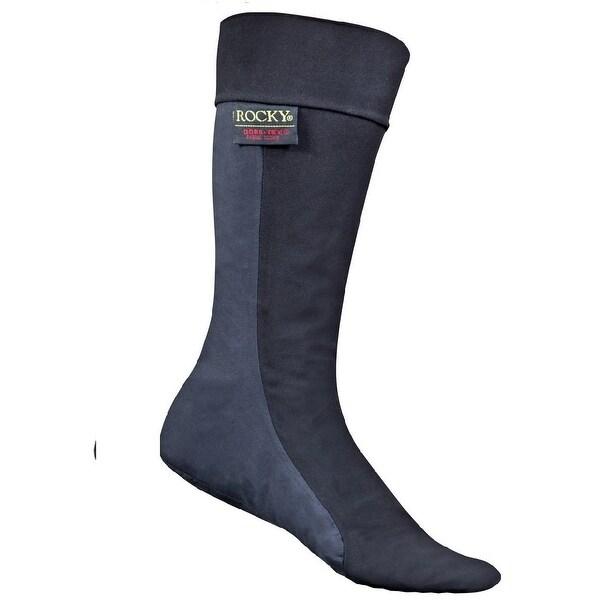 "Rocky Socks Mens 11"" Gore Tex Abrasion Waterproof Black"