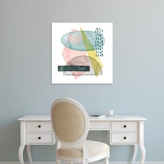 Easy Art Prints Grace Popp's 'Pastel Formation II' Premium Canvas Art