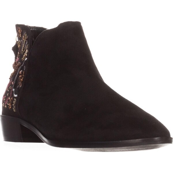 Kenneth Cole REACTION Loop Here We Go Ankle Boots, Black