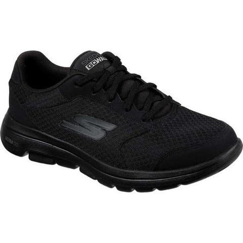 Skechers Men's GOwalk 5 Qualify Walking Shoe Black/Black