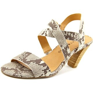 Lucky Brand Pacora Women  Open Toe Leather Gray Sandals