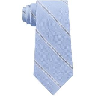 Link to Calvin Klein Mens Crfme Stripe Self-Tied Necktie - One Size Similar Items in Ties