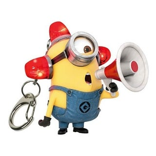 Minions Electronic Lights and Sound Key Chain - Multi