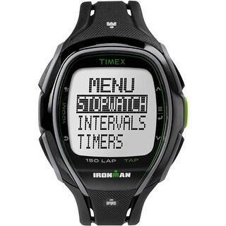 Timex Ironman Sleek 150 Unisex Watch - Black Ironman Sleek 150 Unisex Watch