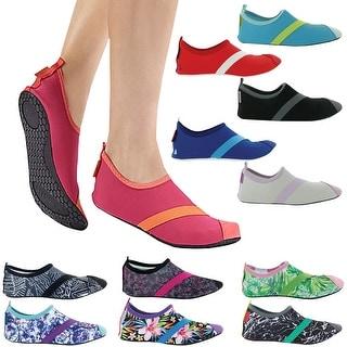 FitKicks Women's Breathable Ergonomic Comfort Non-Slip Sole Active Footwear