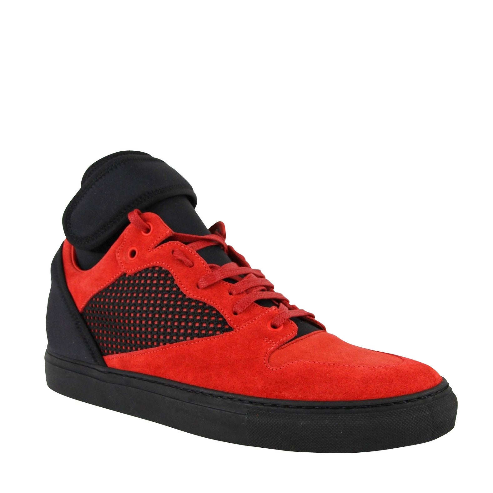 Red Suede Leather Sneakers 412349 6561