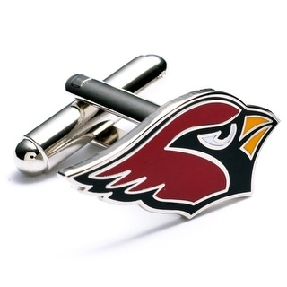 Silver Plated Arizona Cardinals Cufflinks