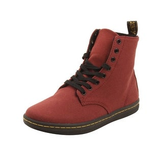 Dr. Martens Alfie Boots in Cherry Red