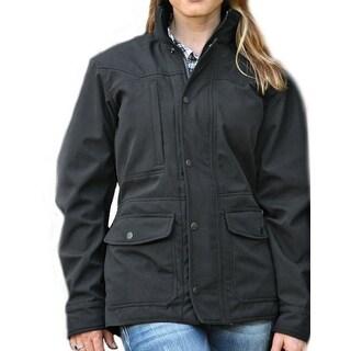 StS Ranchwear Western Jacket Womens Microfiber Brazos Black STS9472
