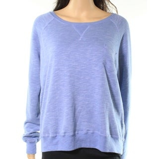 Champion Women Large Pocket Scoop Neck Pullover Sweater