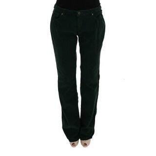 Dolce & Gabbana Dolce & Gabbana Green Cotton Corduroys Jeans