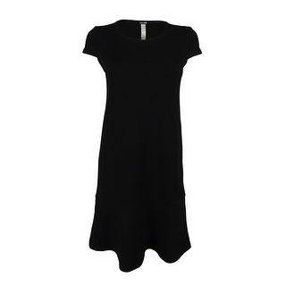 Kensie Women's Textured Cap Sleeve Dress
